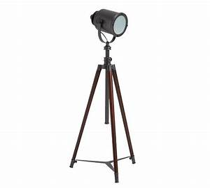 photographer39s tripod floor lamp pottery barn With photographer s tripod floor lamp bronze finish