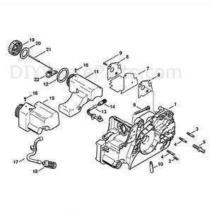 Stihl Ms 170 Chainsaw  Ms170z  Parts Diagram  Engine Housing