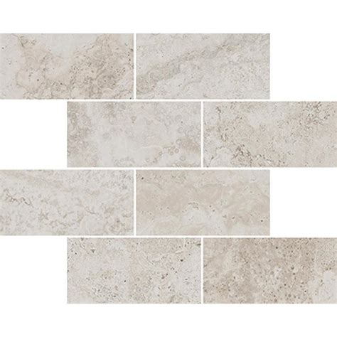 style selections tile shop style selections geneseo beige mosaic porcelain floor