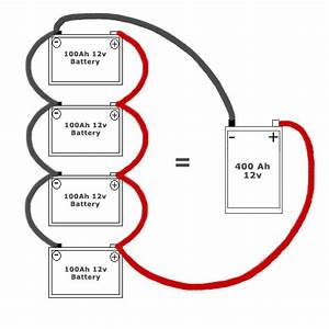 4 Best Images Of Parallel Battery Wiring Diagram