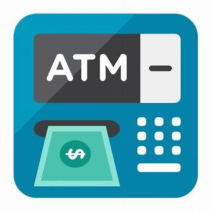 Atm Clipart Business Vector Stencils Banking Buying