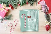 Candy Cane Poem Printable - Live Laugh Rowe