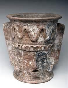 Mayan Artifacts Pottery