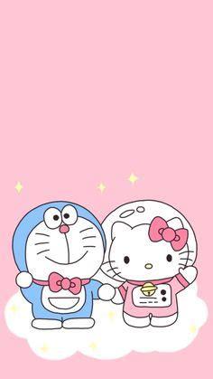 gambar animasi lucu warna pink gambar putih