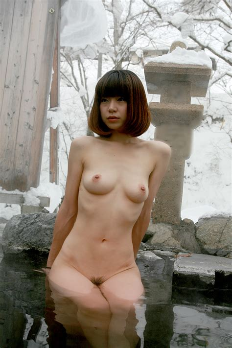 Hot Spring In Snow 924 24  In Gallery Japanese Amateur Exposed 13 Aya In Hot Spring