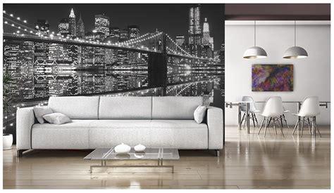 york city night lights giant wall mural