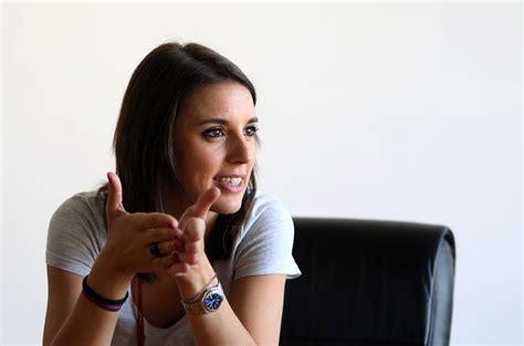 Irene Montero, Durante La Entrevista Con Eldiario.es