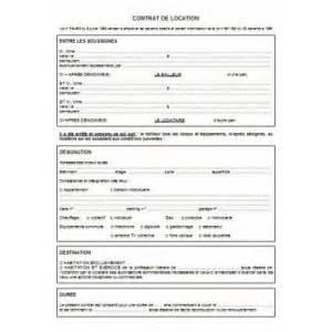 Modele Contrat Location Meublé Gratuit by Modele Bail Gratuit Location Document Online