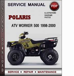 Polaris Atv Worker 500 1998