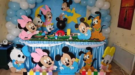 decoration anniversaire 1 an anniversaire theme mickey