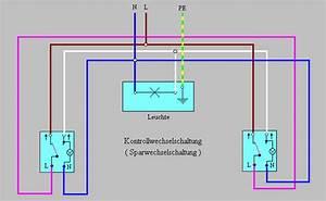 Serienschalter Wechselschalter Unterschied : kontrollwechselschaltung wikipedia ~ Lizthompson.info Haus und Dekorationen