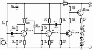 Led Light Organ Circuit Diagram