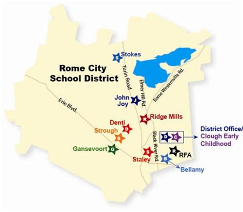 district map rome city school district