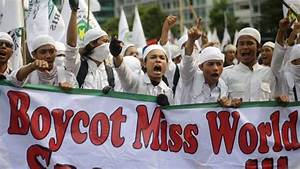 Miss World Pageant Moved To Bali After Muslim Protests In ...