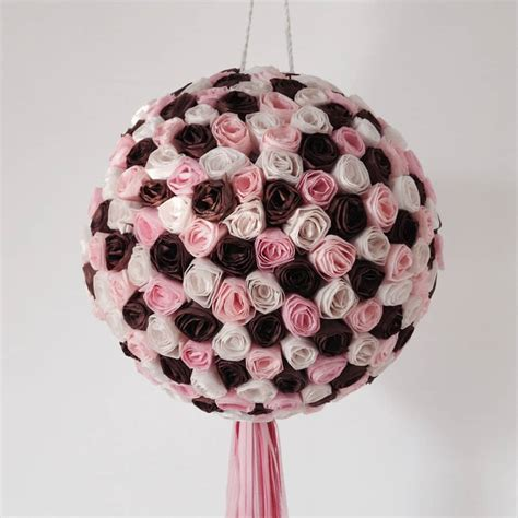papel craft homemade pinatas  party decorations
