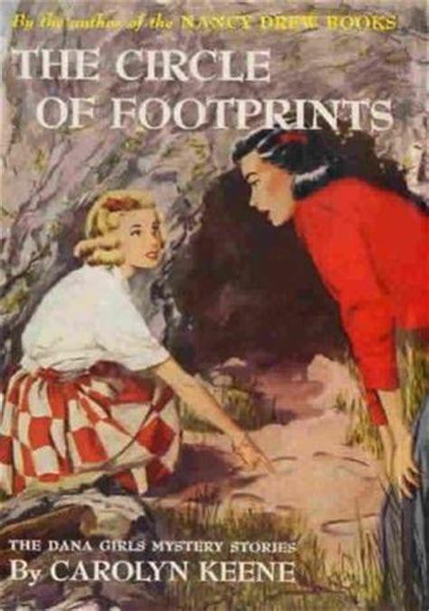 circle  footprints  dana girls mystery stories   carolyn keene reviews
