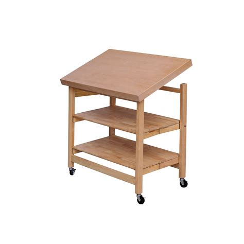 oasis concepts folding kitchen island  wood top
