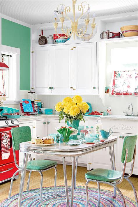 retro diner decor ideas   kitchen vintage