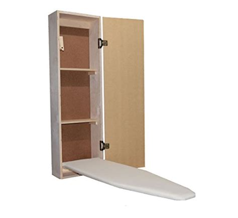 ironing board cabinets home depot built in ironing board cabinet wood iron storage
