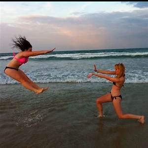 BestFriend Picture Ideas / Cool beach picture idea! by sky ...