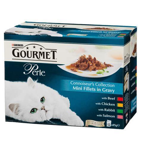 Gourmet Perle Connoiseurs Collection Cat Food 12 x 85g   Pets,