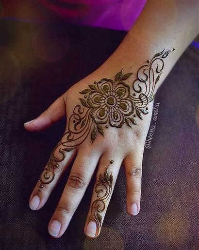 Henna Mehndi Designs Flower Latest Creation Medium