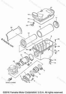 Yamaha Atv 2006 Oem Parts Diagram For Intake