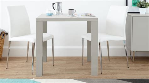 Modern Grey High Gloss Dining Table   Kitchen Table