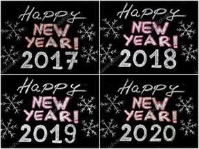 Feliz Año Nuevo 2017, 2018, 2019, 2020