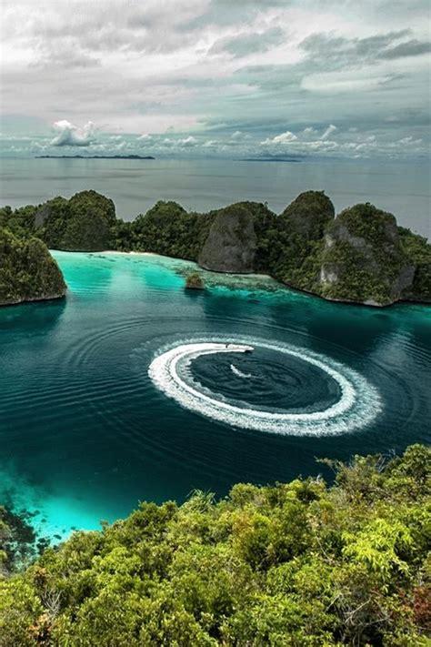 ideas  raja ampat islands  pinterest