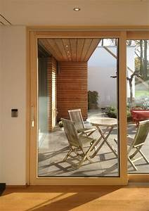 Schiebetür Glas Bauhaus : aluminium holz schiebet r bauhaus look terrasse ~ Watch28wear.com Haus und Dekorationen