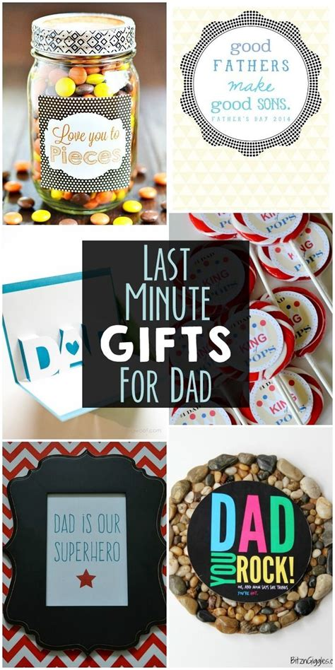 minute gifts  dad  collection  easy gifts