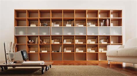 La Libreria In libreria in legno componibile a parete wood sololibrerie
