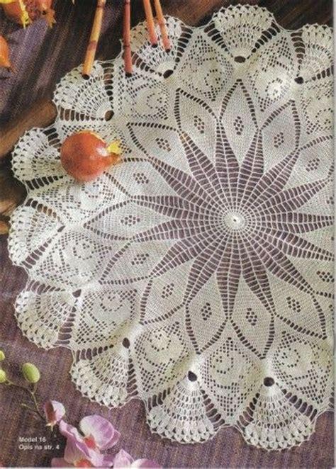 modele nappe crochet gratuit napperon au mod 232 le gratuit crochet napperons nappes roses et