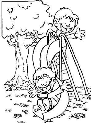 transmissionpress kids coloring pages boys     park