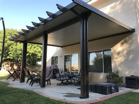 patio shade covers alumawood insulated roofed patio cover patiocovered