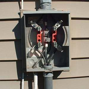 Mobile Home Meter And Breaker Box Wiring by How To Wire An Electric Meter Decor Electric House