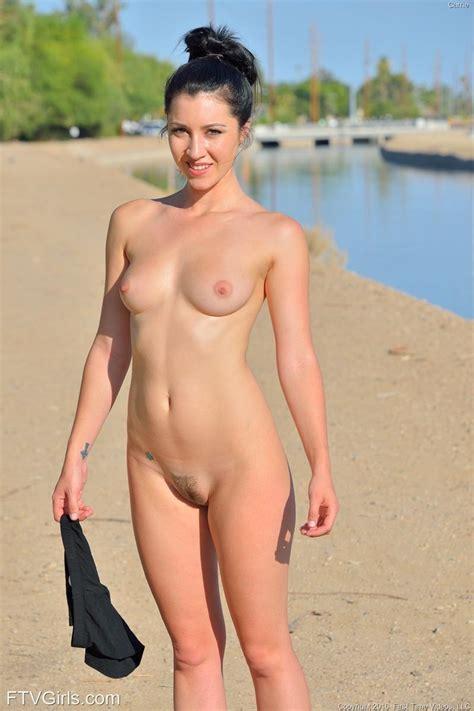 Sporty Girl Running Naked