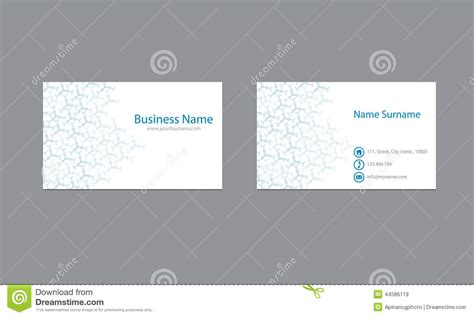 Science Business Cards Design Vector Template Stock Vector Novelty Desk Business Card Holder Visiting Design Maker Free Download Your Online Green For Software Company Advocate Greek Etiquette Display Template