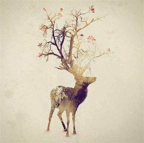 Animal Illustration Wallpaper - smoky exposure animals illustrations fubiz media