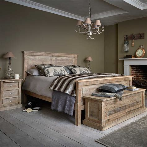 austen bed frame    reclaimed wood