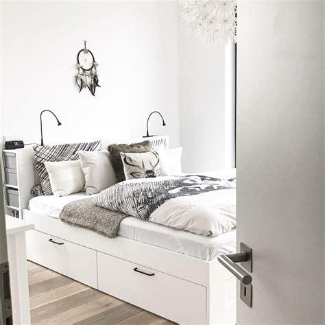 schlafzimmer bett ikea ikea brimnes bett bettkasten stauraum schlafzimmer bedroom