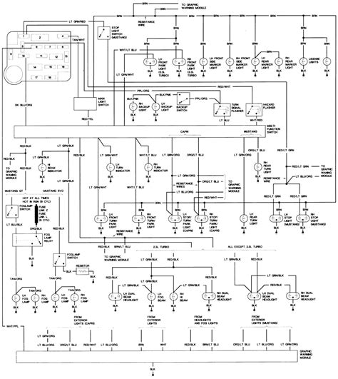 Wiring Harness Page Ford Mustang Forums Modified
