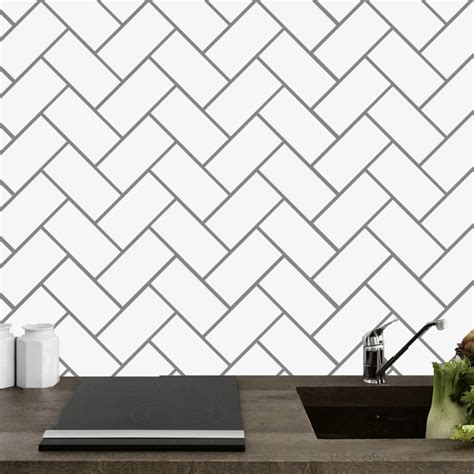 herringbone tile kitchen  bathroom wall  sweetumssignatures