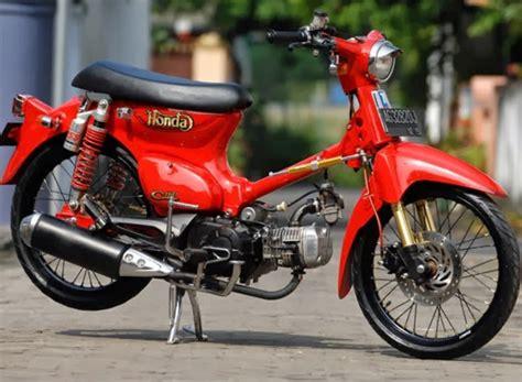 Modifikasi Honda 70 Simple modifikasi honda c70 simple desain
