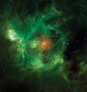 The Wreath Nebula, an emission nebula in Perseus | Anne's ...
