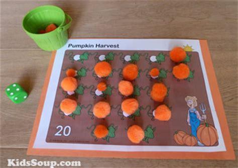 preschool pumpkins activities and crafts kidssoup 383 | Pumpkin Harvest Activity5