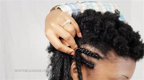 cornrow braids step  step tutorial   part