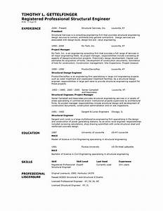 structural engineer resume format resume template easy With engineering resume builder