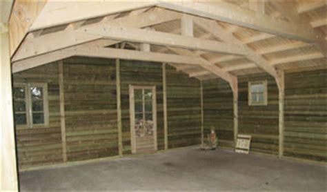garage ferme constructions bois abri la romagne
